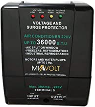 Voltage Surge Protector Split A/C brownout & Refrigerators/Water Pumps 6600W / 36000BTU / 220V