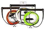Ronix Combo 5.5 Dyneema BarLock - Hide Grip T Wakeboard Handle w/ R6...