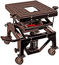 Pit Posse Scissor Lift Table with Caster Wheels