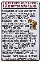 犬が男性金属サインよりヴィンテージ飾り壁装飾より良い15の理由