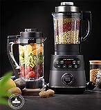 Zixin Smoothie Blender, 8 in 1 Robot da Cucina Multifunzione Miscelatore della Cucina del Sistema, 1000W ad Alta velocità Blender/Chopper/Grinder con 1750ml Bottiglia BPA-Free, Facile da Pulire