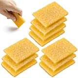 PAGOW 10PCS Rubber Cement Eraser, Glue Residue Pick-Up Eraser, Cleaning Tool for Removing Adhesive Residues from Paper Plastic and More (51.7mm x 36.5mm x 6.7mm)
