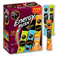 4C Energy Rush Stix | Single Serve Water Flavoring Packets | Sugar Free, with Taurine | On the Go Bundle (Variety Pack, 1 pack) by 4C
