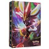 Pokemon Carte Album, Raccoglitore Porta Carte Pokemon, Album per Carte Pokemon GX, Porta Carte Pokemon Album Cartella Raccoglitore Libro 30 Pagine 240 capacità di Carte
