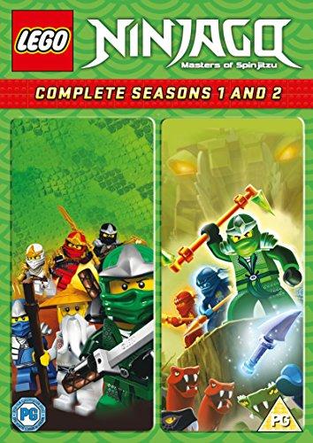 Lego Ninjago - Masters Of Spinjitzu: Complete Seasons 1 And 2 (4 Dvd) [Edizione: Regno Unito] [Reino Unido]
