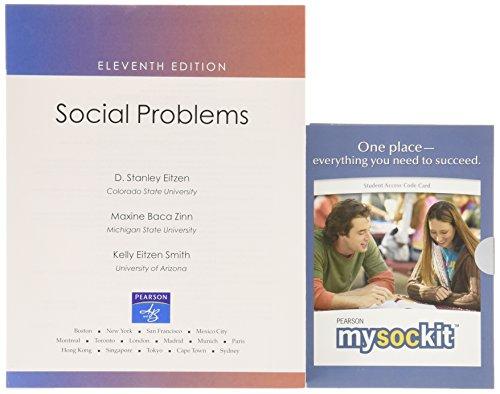 Social Problems [With Access Code] (Books a la Carte Plus: MySocKit)