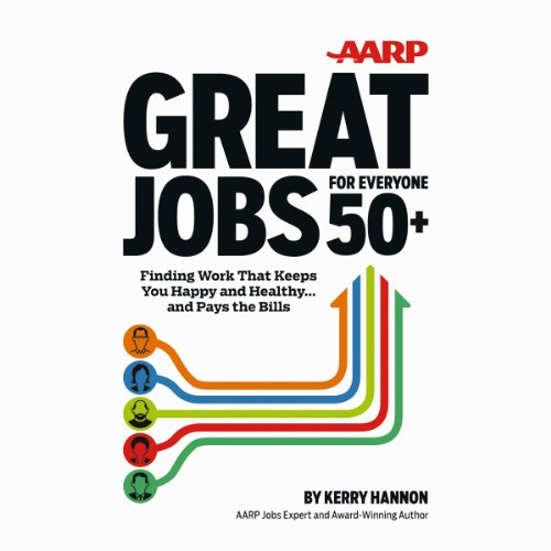 AARP Great Jobs for Everyone 50+ cover art
