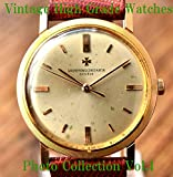 High Grade Vintage Antique Watches Vacheron Constantin Patek Philippe HERMES Tiffany & Co. Photo Collection Vol.1