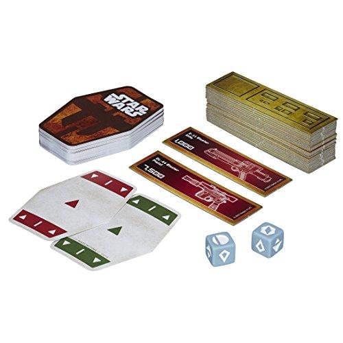 Hasbro HASE2445EU4 Star Wars Han Solo Kartenspiel, Mehrfarbig