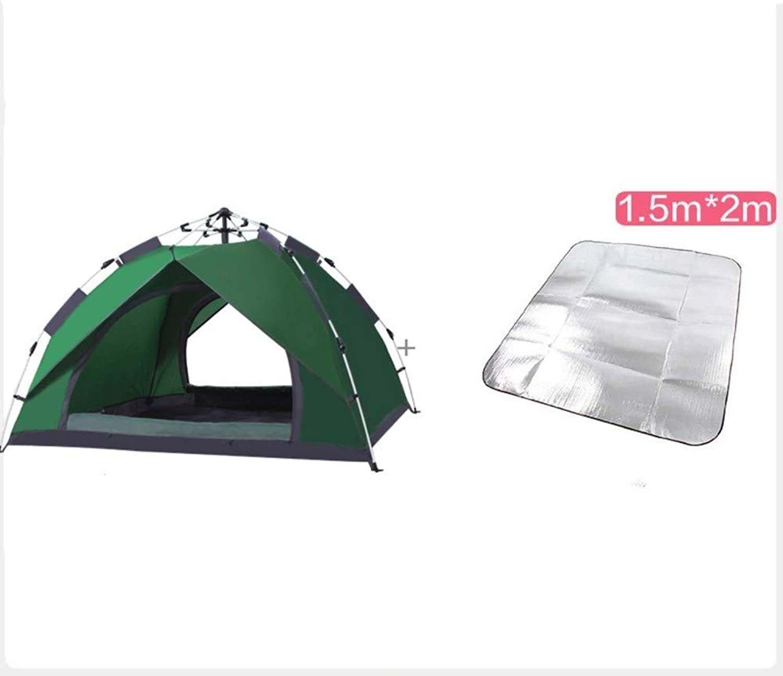 HWL Outdoor Dome Family Camping Zelt 100% wasserdicht 2500mm, einfache Montage, strapazierfhiges Gewebe Volldeckung