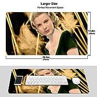 人気グレース・ケリー Grace Kelly 3 ワイヤレス マウスパッド 耐久性が良い 防水 滑り止めゴム底 ゲーム オフィス 多機能 マウスパッ