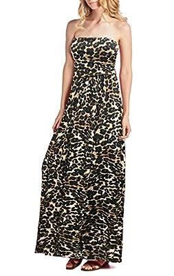 Beachcoco Women's Comfortable Maxi Tube Dress