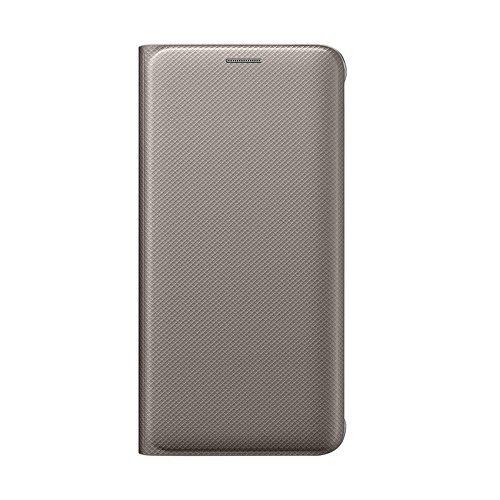 Samsung Flip Wallet EF-WG928 - Funda para Samsung Galaxy S6 Edge +, color oro