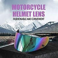 GoolRC ヘルメット レンズ バイザー オートバイ アンチUVアンチ スクラッチ ウィンド シールド モト ヘルメットCS-15 TR-1 FG-15 HS-11 FS-15 FS-11用