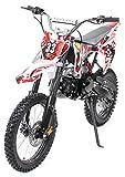 Kinder Jugend Crossbike Enduro Motocrossbike 125cc 4Takt Motocross Motorrad Cross 84cm Sitzhöhe...