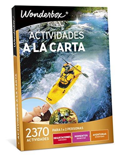 WONDERBOX Caja Regalo -Actividades A LA Carta- 2.370 Actividades para Dos Personas