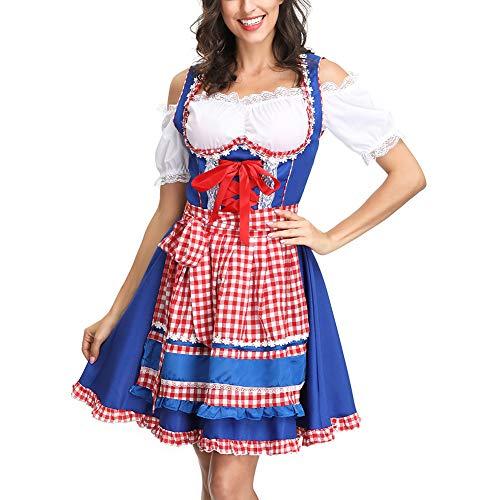 Beierse Maid kostuum Oktoberfest kostuum sexy bier meisjes uniform Bavaria Duits dirndl feest-avondjurk Medium 4