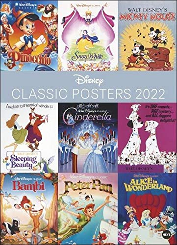 Disney Classic Posters Edition Kalender 2022