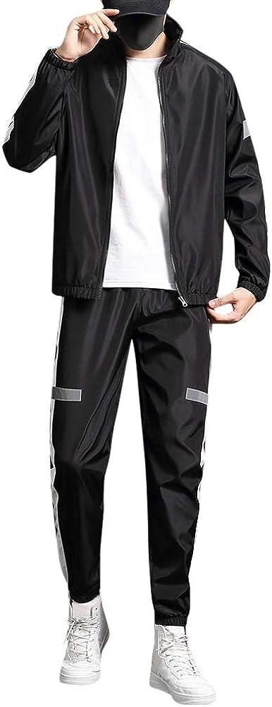Men's Tracksuit Fitness Sport Suits Gym 2 Piece Joggers Sweatpants Sets Gym Jogging Tracksuits