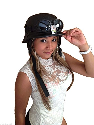 Chopperhelm -S- + Brille Bikerhelm -S- + Brille Roller-Helm+ Brille Jethelm + Brille