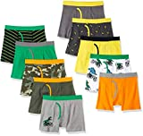 Spotted Zebra Boxer Brief Ropa Interior, Camuflaje, Small (6-7)