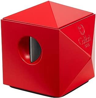 Colibri Quasar Tabletop Cigar Cutter - Matte Red