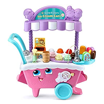 LeapFrog Scoop and Learn Ice Cream Cart Deluxe (Amazon Exclusive) from LeapFrog