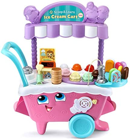 LeapFrog Scoop and Learn Ice Cream Cart Deluxe Frustration Free Packaging product image