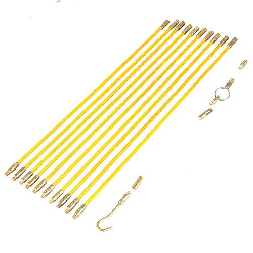 Varillas no conductoras de fibra de vidrio no conductor de 10Pcs 4,0...