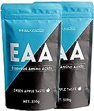 青りんご味 必須アミノ酸 サプリ EAA 415430mg ハルクファクター 1.02kg 106食分 パウダー 国産