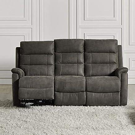 Amazon.es: sofas relax - Poliuretano / Muebles: Hogar y cocina