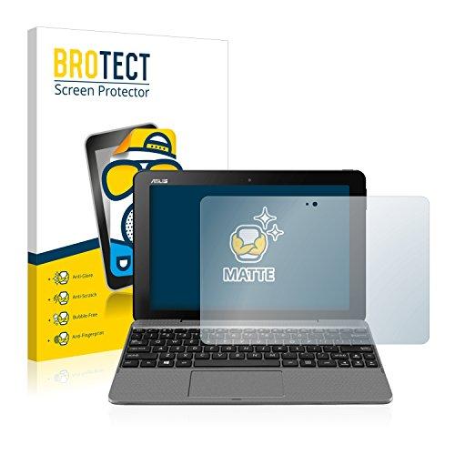 BROTECT Protector Pantalla Anti-Reflejos Compatible con ASUS Transformer Book T101 (2 Unidades) Pelicula Mate Anti-Huellas