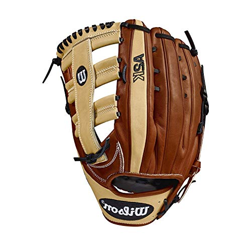 Wilson 2018 A2K 1775 Outfield Right Hand Gloves, Copper Blonde, 12.75