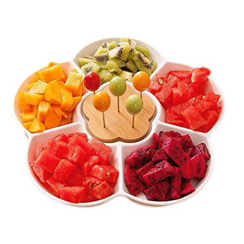 Fruitbord van keramiek voor de woonkamer thuis fruitbord design aperitschaal dessertbord fruitbord multifunctioneel fruitbord fruitbord fruitbord fruitbord