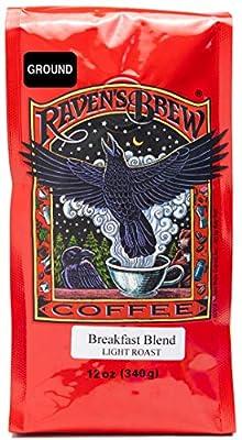 Raven's Brew Coffee Breakfast Blend - Light Roast