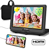 """PUMPKIN 15.6"""" Portable DVD Player Kids with Swivel Screen Built in 7 Hours"""