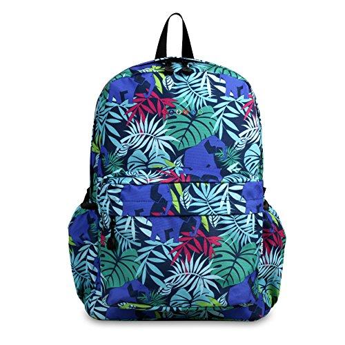 J World New York Oz Womens School Backpack. Girls Cute Bookbag, Savanna, One Size