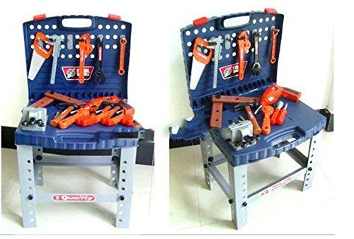 子供用 工具セット ミニワークセンター 持ち運び便利な おもちゃ の ツールセット MGC JAPAN TRADE