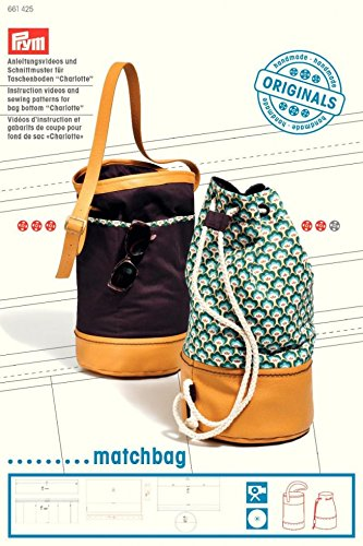 """Prym Schnittmuster & DVD für Beuteltasche """"Charlotte Matchbag"""""""