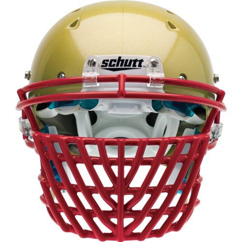 Schutt Sports ROPO DW STG Carbon Steel Football Faceguard, Scarlet