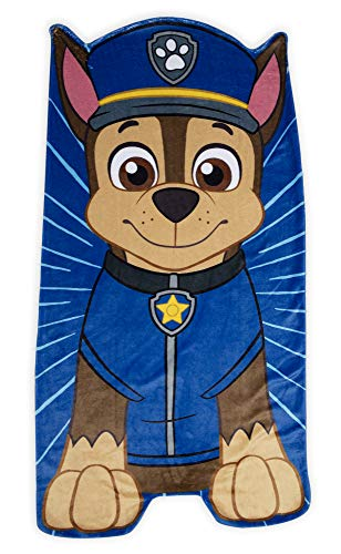 Paw Patrol Team Paw Toddler Nap Mat - Includes Pillow & Fleece Blanket - Great for Boys and Girls Napping at Daycare, Preschool, Or Kindergarten - Fits Sleeping Toddlers and Young Children