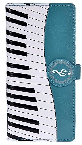 Women's Music Clutch Wallet