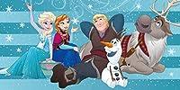 4126 アナと雪の女王 Disney frozen Beach Towel ビーチタオル バスタオル 大判 150cm x 75cm [並行輸入品]