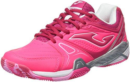Joma T.Match Lady 610 Clay Fucsia-Morado Zapatillas de Tenis, Mujer, 40
