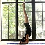 KUYOU Yogamatte- Faltbare 2 MM dünne Gymnastikmatte rutschfest Design Hilfslinien licht umweltfreundlich langlebig hochwertiges Wildleder für Reisen Yoga und Pilates mit Tragetasche Tragegurt - 8