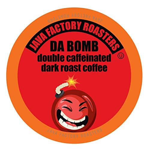 Java Factory Coffee Pods High Caffeine Coffee...