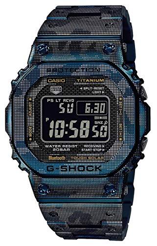 G-Shock GMWB5000TCF-2 One Size ブルー/シルバー