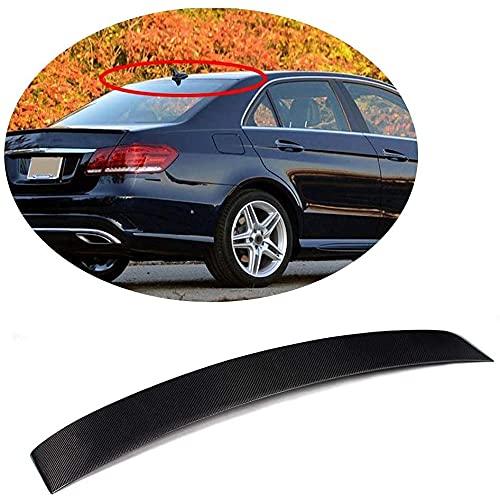ZUOXUN Heckspoiler Passend Für Für Mercedes Für Benz E-Klasse Limousine W212 Limousine Pre-Facelift 2010-2013 E200 E250 E300 E350 E400 E500 E63 Amg Carbon Fiber Dachfenster Top Wing Lip Spoil