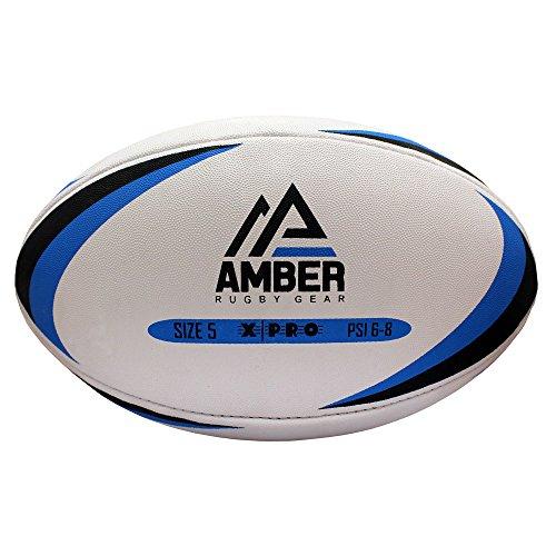 Amber Sports - Pelota de Rugby para Partidos o Entrenamientos, Talla 5