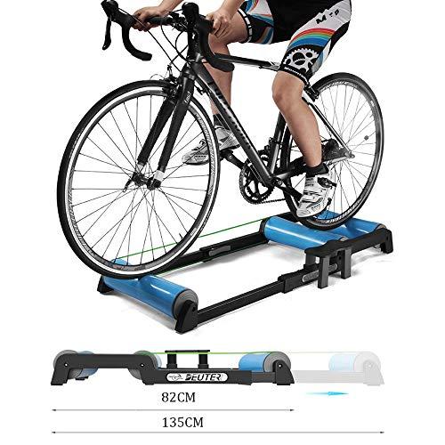 Retractable Bike Trainer, Fiets Training Rollers Bracket Trainer MTB Wegfietsen Fietstrainers Roller Station Indoor Hometrainer Resistance Fitness Training Machine